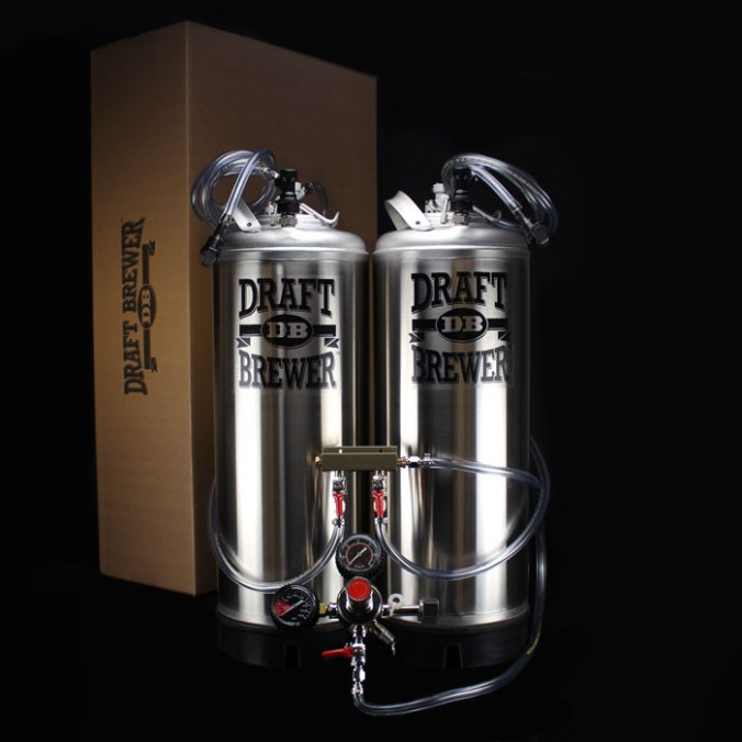 Draft Brewer Dual Keg System for Homebrewing Promo Code