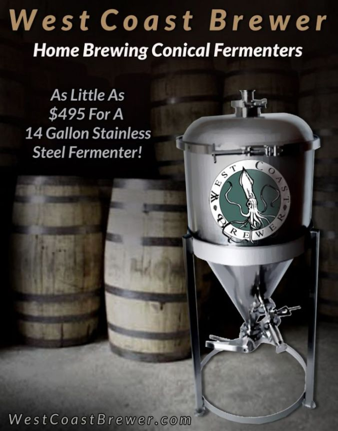 Homebrewing Conical Fermenter Promo Code
