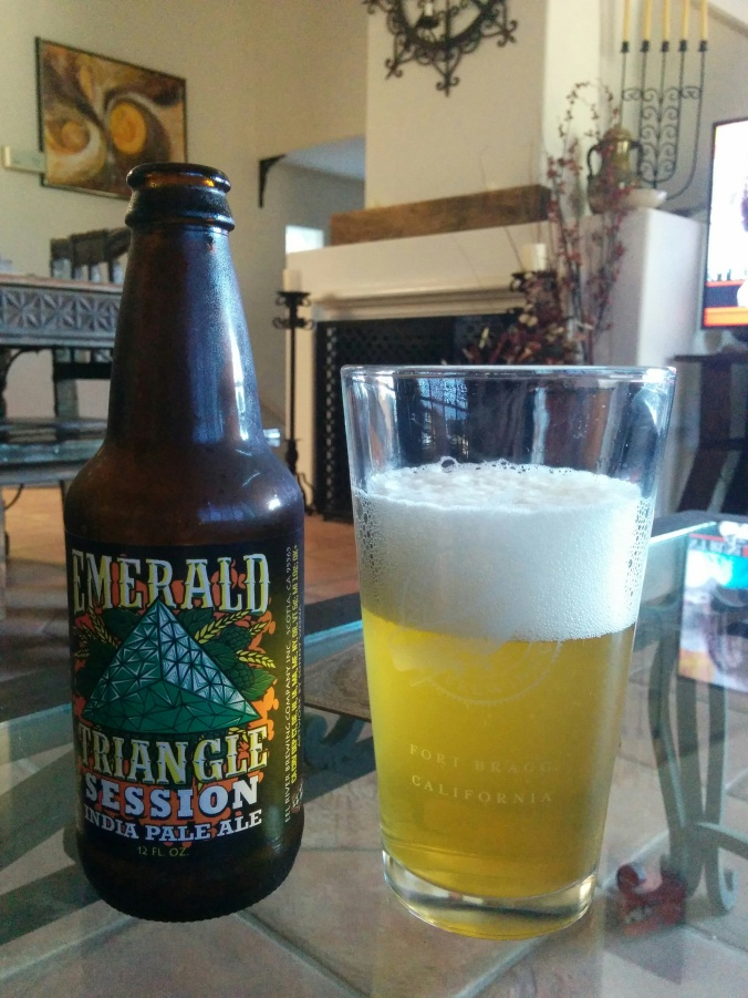 Eel River Emerald Triangle Session IPA Craft Beer