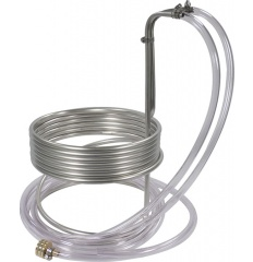 Homebrew Stainless Steel Wort Chiller