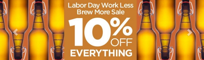 10 Percent Off Homebrew