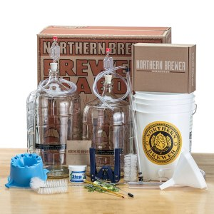 deluxe home brewing starter kit