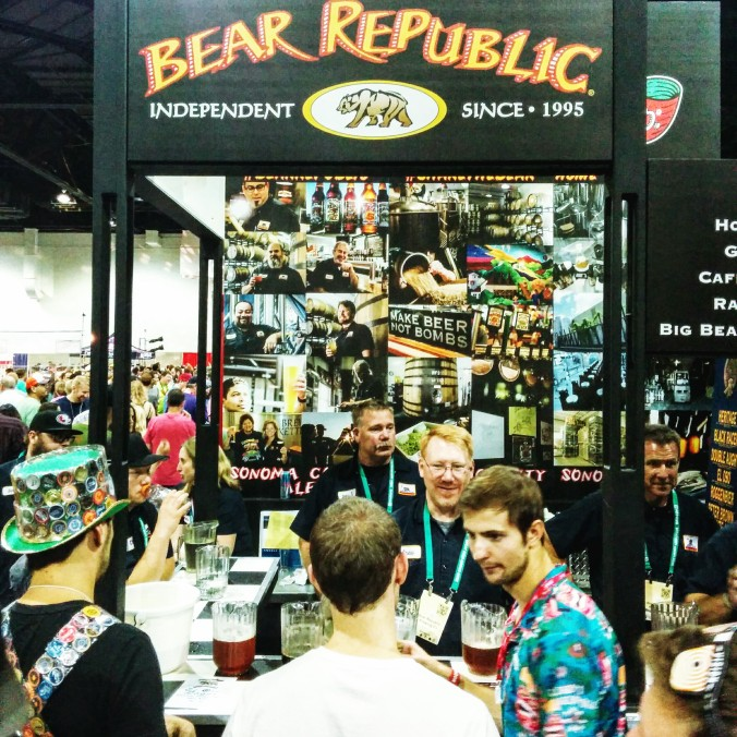 Great American Beer Festival Bear Republic Brewery