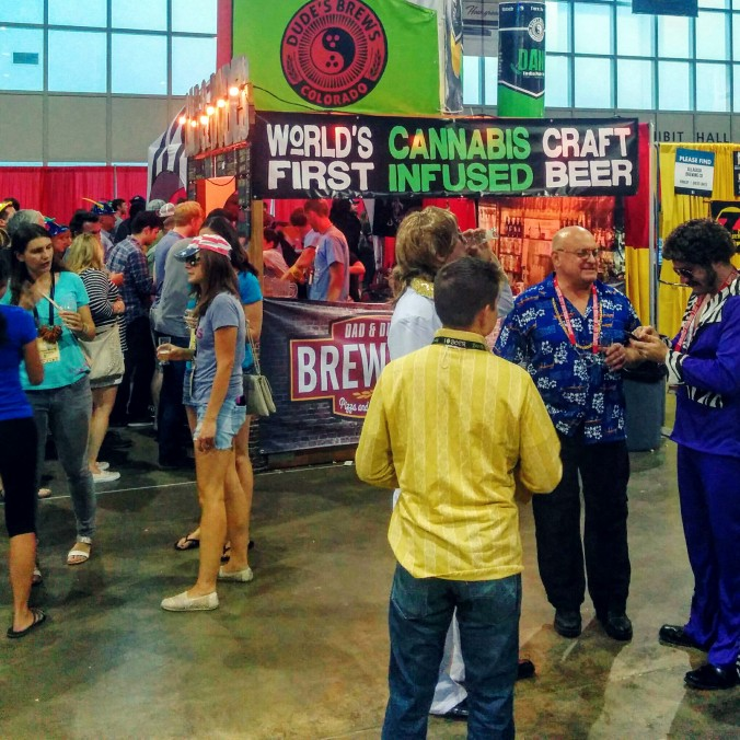 Great American Beer Festival Cannabis and Weed Beer