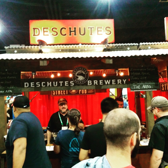 Great American Beer Festival 2015 Deschutes Brewery