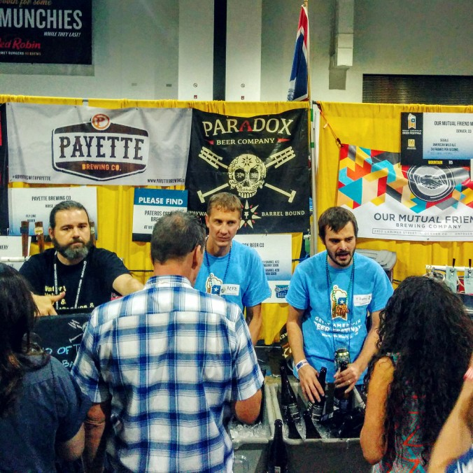 Great American Beer Festival 2015 Paradox Brewing