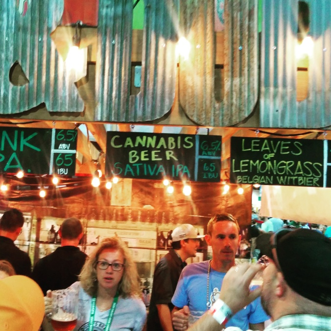 Great American Beer Festival 2015 Weed and Pot Beer
