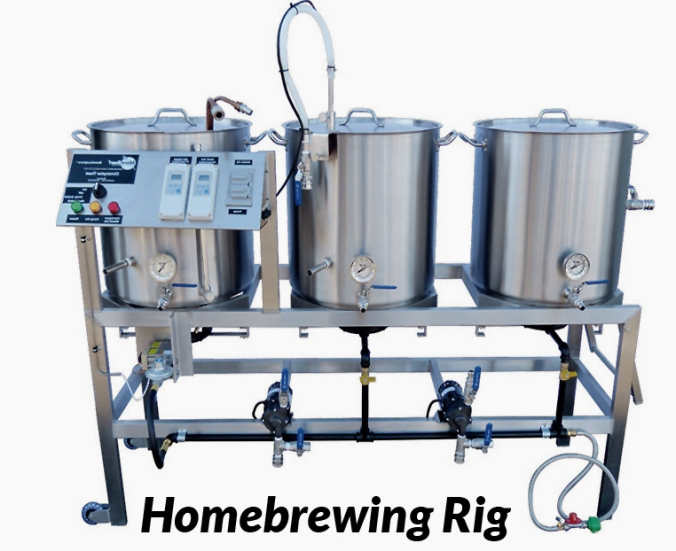 Homebrewing Rigs, Brew Stands, Brewing Stands, Brew Sculptures and Home Brewing Racks