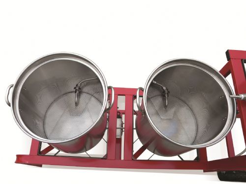 Ruby Street Homebrewing Rig Kettles