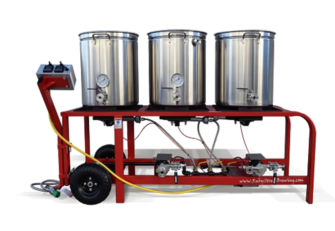 All Grain Brewing System All Grain Homebrewing Brewery