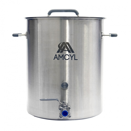 Heavy Duty Stainless Steel Brew Kettle With Ball Valve
