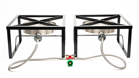 2 Burner Homebrewing System