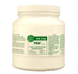 4 LBS Container of PBW Powder Brewery Wash