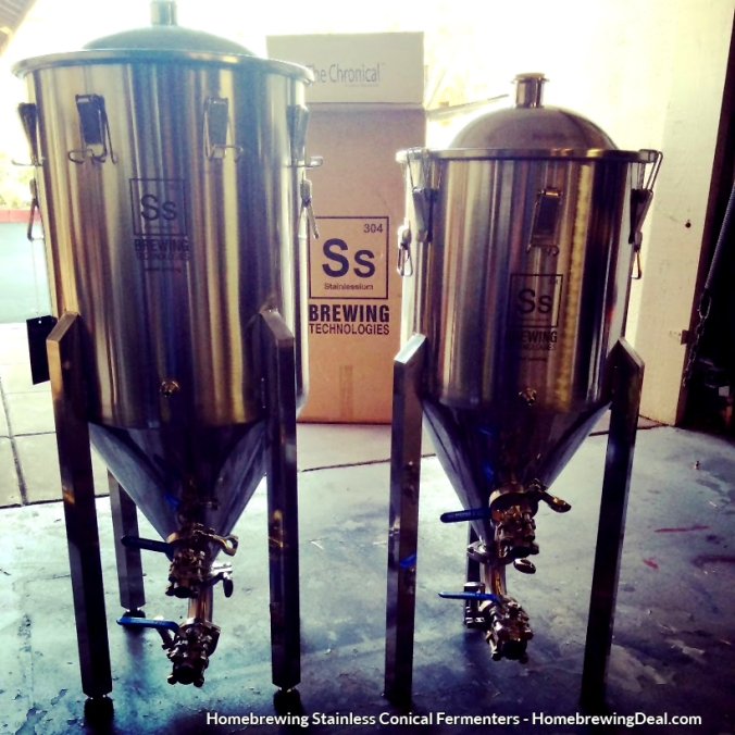 Homebrewing Stainless Steel Conical Fermenters for Beer Fermentation