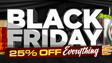 Homebrew Supply Black Friday Sale - 25% Off Everything!