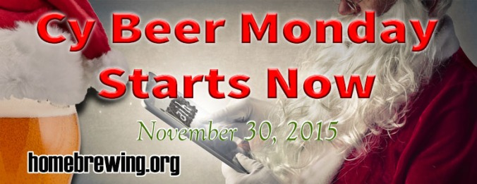 Cyber Monday Home Brewing Sale