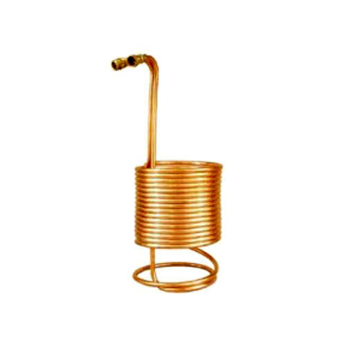 50' Copper Immersion Wort Chiller