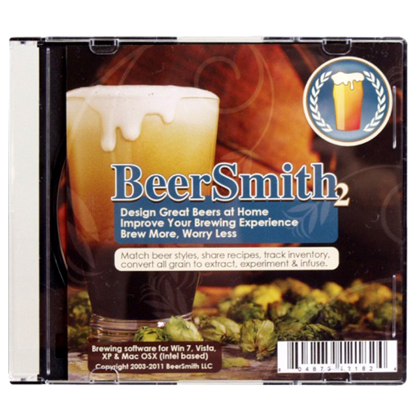 $18.99 Beer Smith Home Brewing Software