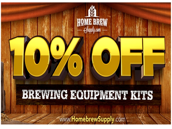 Save 10% On Home Beer Brewing Kits