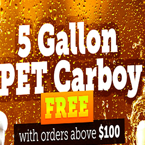 Free Carboy with $100 Purchase