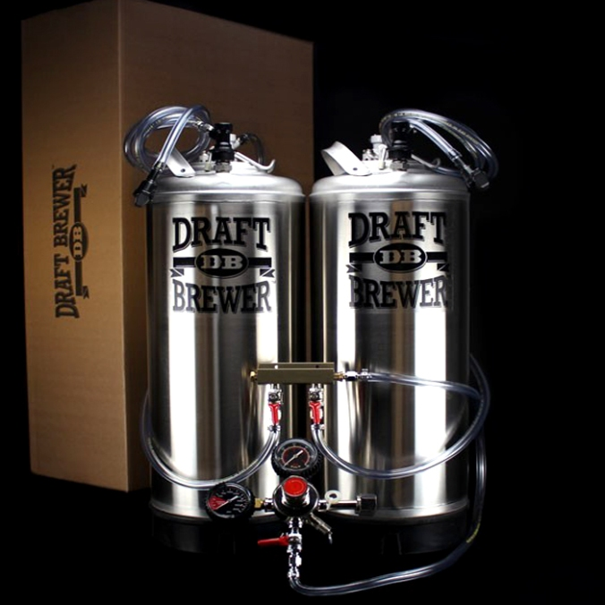 Free Happy Holiday Beer Kit with Every 5 Gallon Draft Brewer Keg System