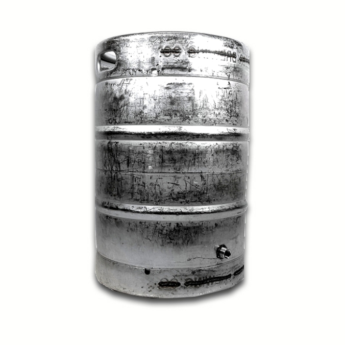 Stainless Steel 15 Gallon Homebrewing Keggle