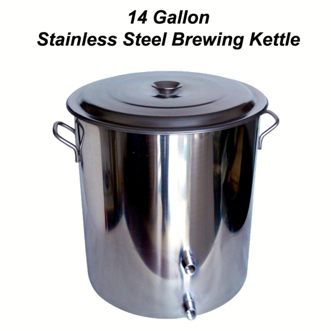 14 Gallon Home Brewing Kettle for $109