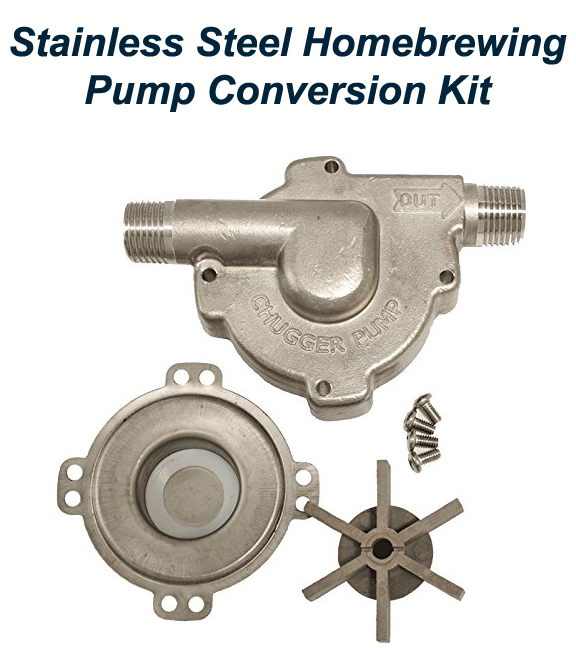 Stainless Steel Home Brewing Pump Conversion Kit