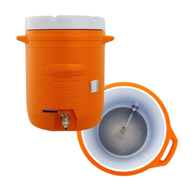 $139 Homebrewing Cooler Mash Tun