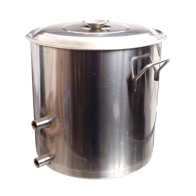 $79 For A 8 1/2 Gallon Stainless Steel Brewing Kettle