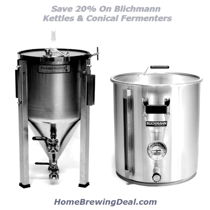 Save 20 Percent On Blichmann Conical Fermenters and Brew Kettles