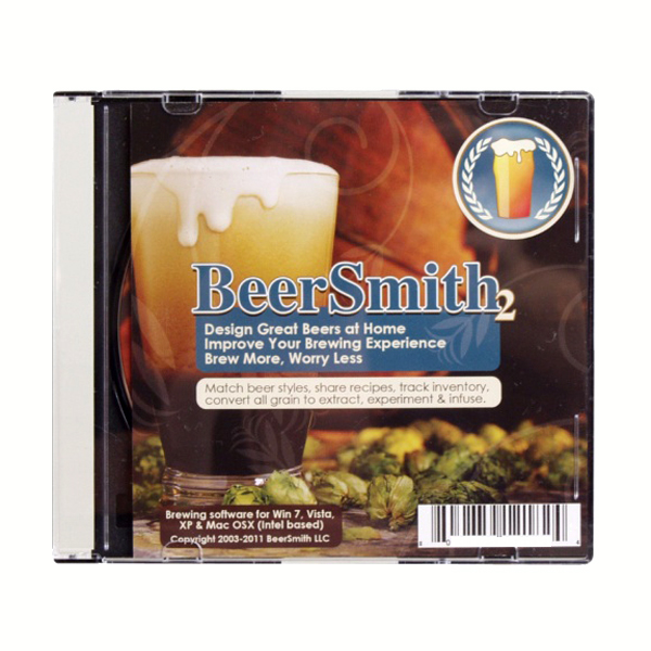 Beer Smith 2 Home Brewing Software for $18.99