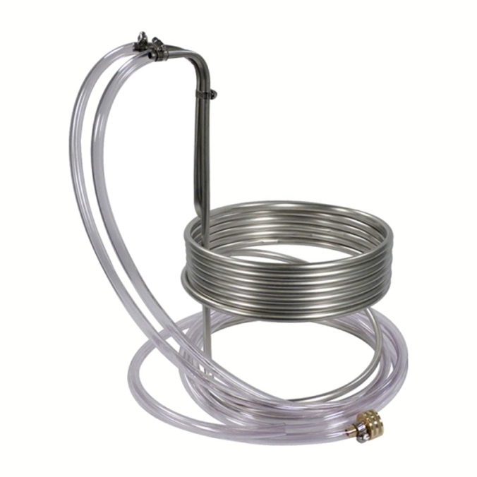 $51 Stainless Steel Wort Chiller