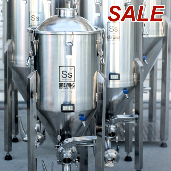 Homebrewing Stainless Steel Conical Fermenters