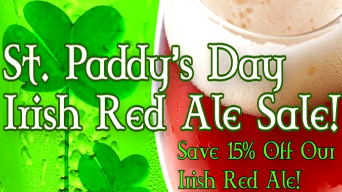 Save 15% on Irish Red Ale Beer Kits