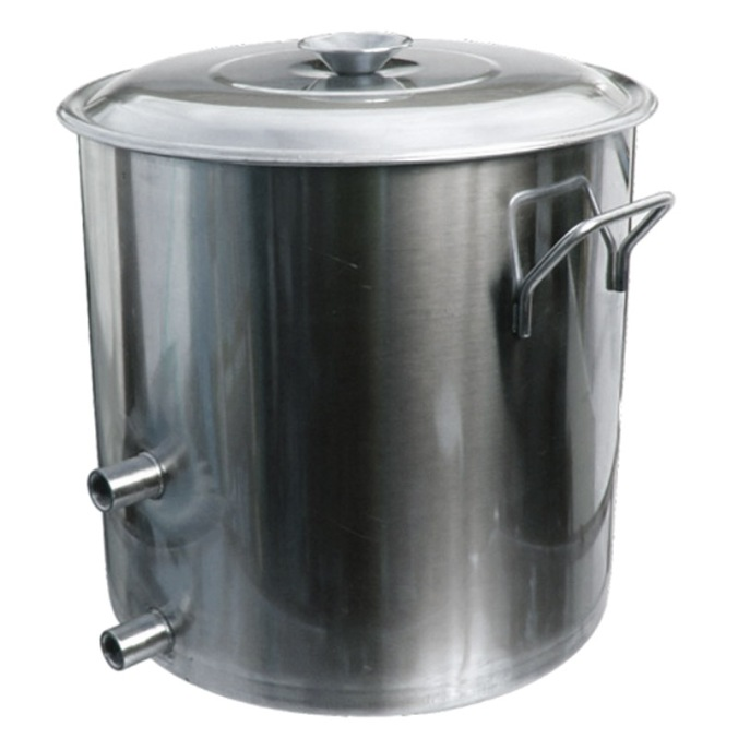 8 1/2 Gallon Stainless Steel Homebrewing Kettle for $79