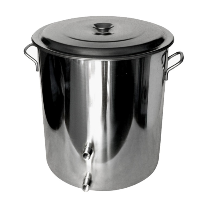 Stainless Steel 14 Gallon Brew Kettle For $114