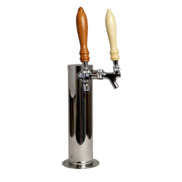Beer Tap Tower with 2 Faucets