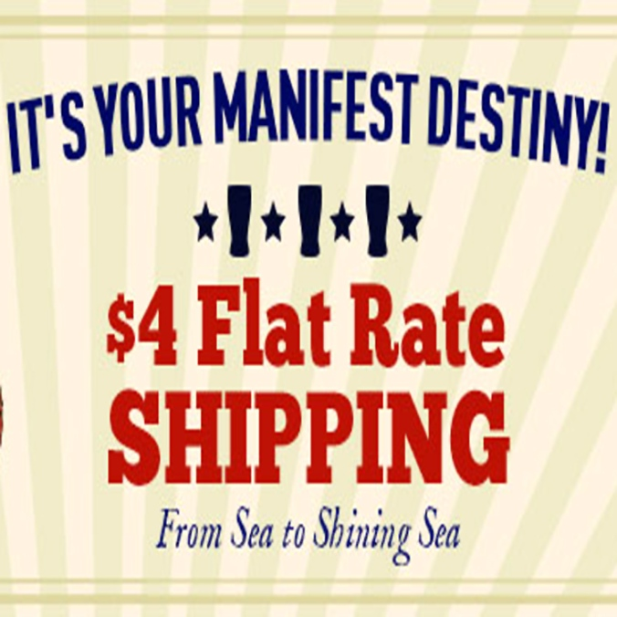 $4 Flat Rate Shipping at Midwest Supplies