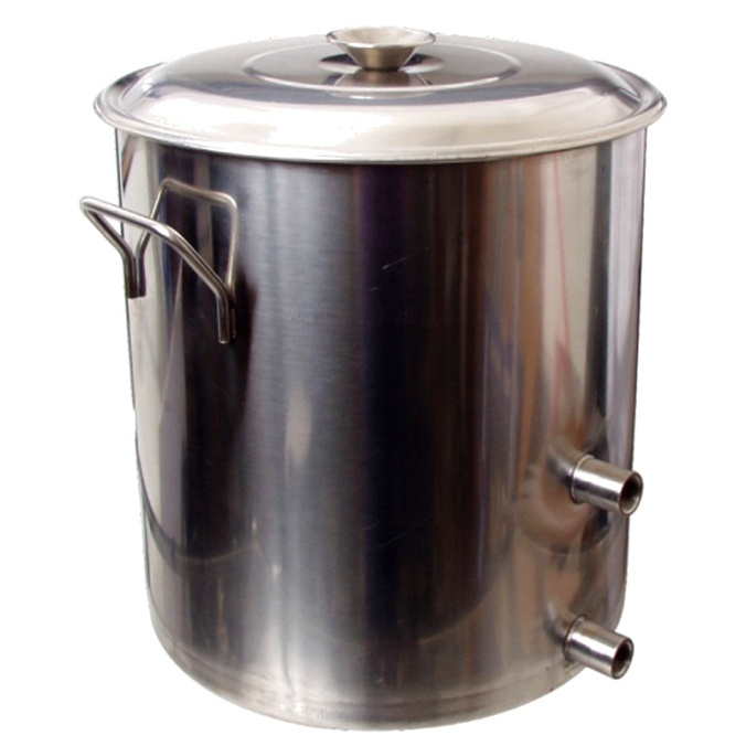 8.5 Gallon Stainless Steel Home Brewing Kettle $79