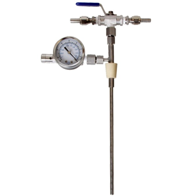 Counter Pressure Beer Bottle Filler with Gauge $74