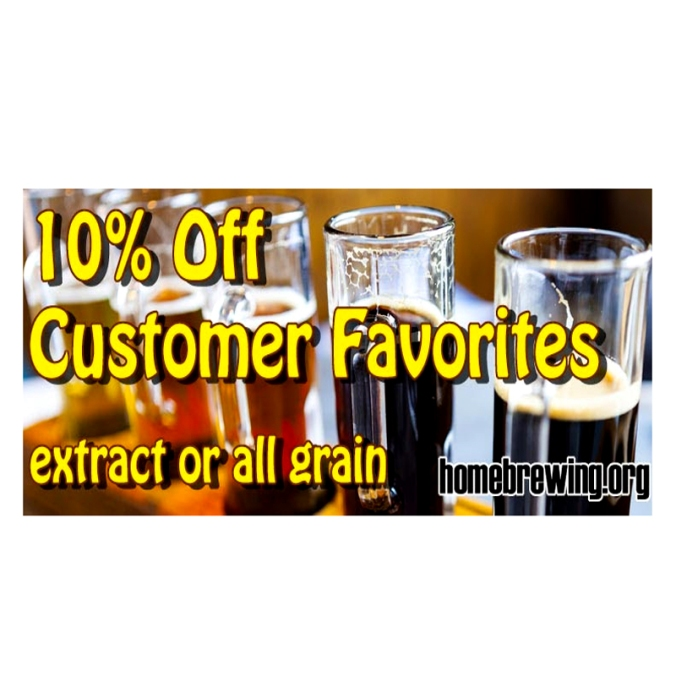 Save 10% On Home Brewing Recipe Kits
