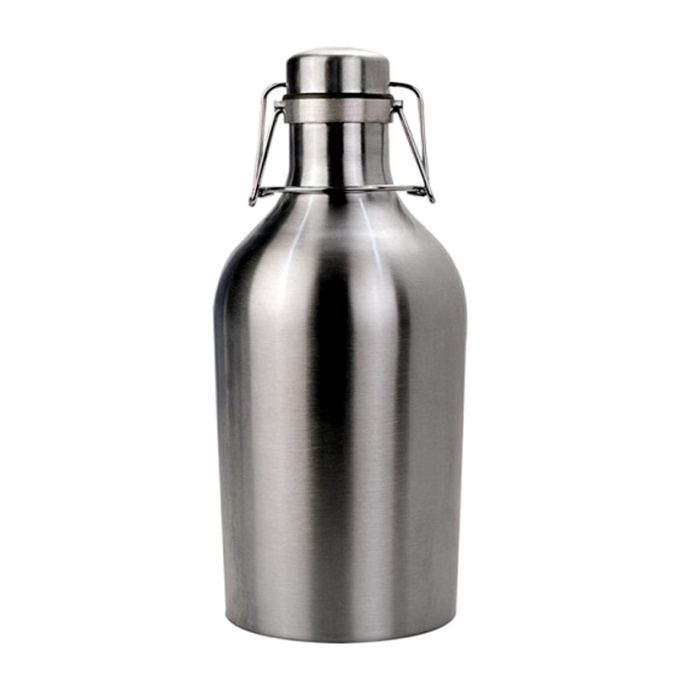 Stainless Steel Beer Growler for Only $1 with $100 Purchase