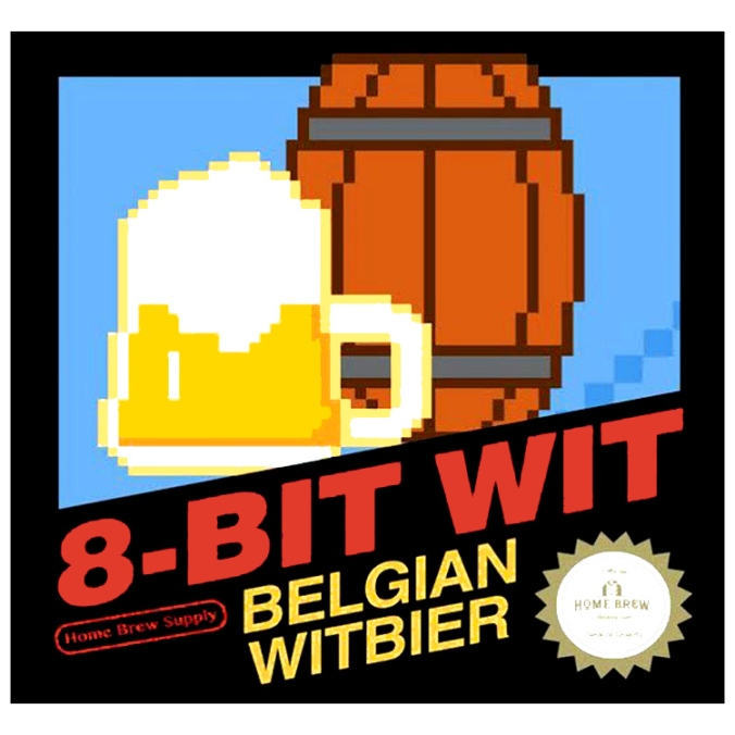 5 Gallon Belgian Wit Beer Home Brewing Kit for Just $17