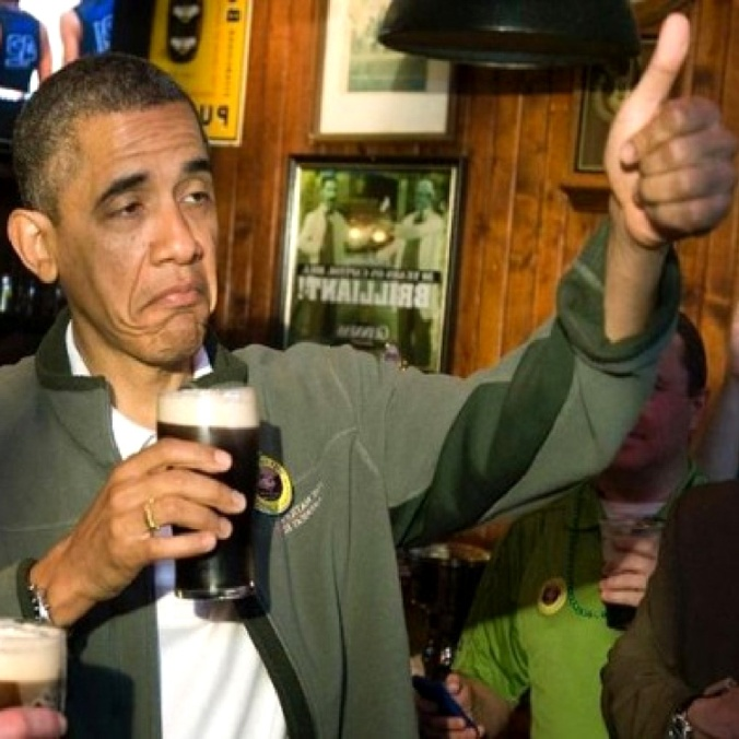 Home Brewing President Obama
