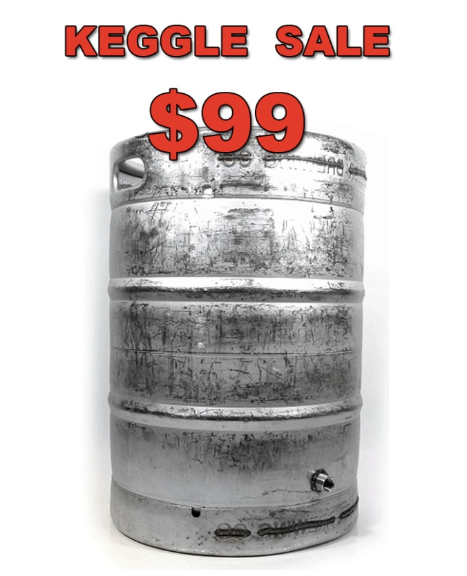 Stainless Steel 15 Gallon Keggle For $99