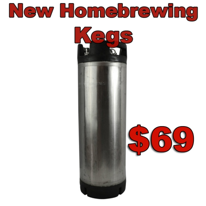 New Home Brewing Kegs just $69