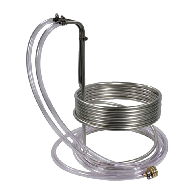 Stainless Steel Wort Chiller for $44