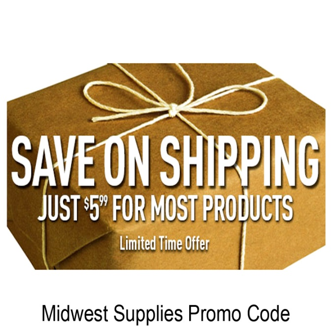 Flat Rate Shipping at Midwest Supplies