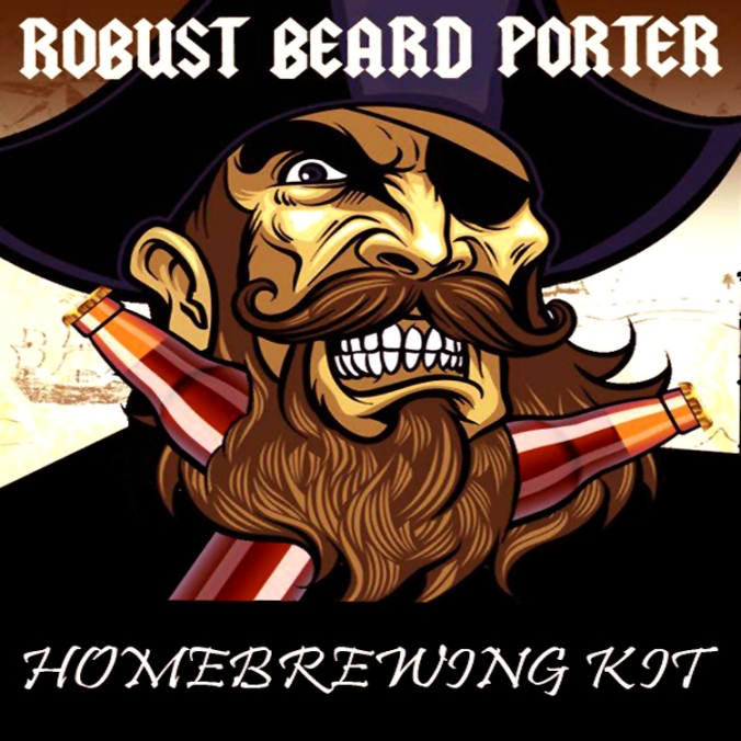 Porter Homebrewing Recipe Kit $24